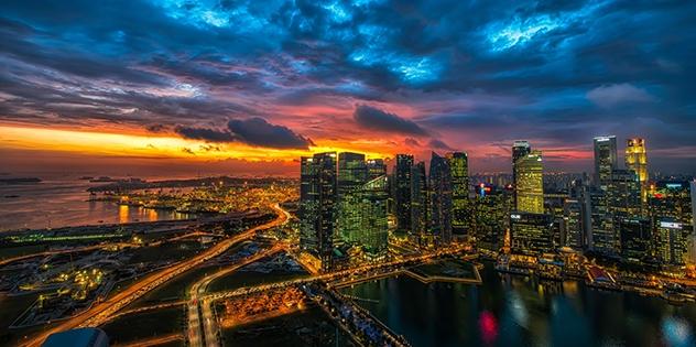 Singapore Sky 001